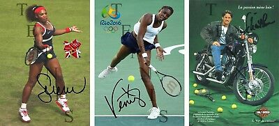 Serena Williams + Venus Williams + Sebastien Lareau (DRUCK / PRINT)
