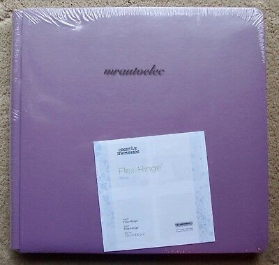 Creative Memories True 12x12 Lilac Flex Hinge Album / Coverset