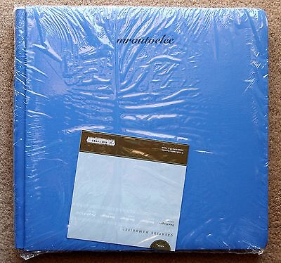 Creative Memories True 12x12 Poolside Blue Flex Hinge Album / Coverset