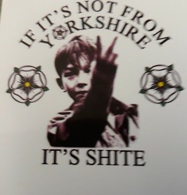 If it's not from Yorkshire  Kez Car Scooter Camper Van Decal Sticker