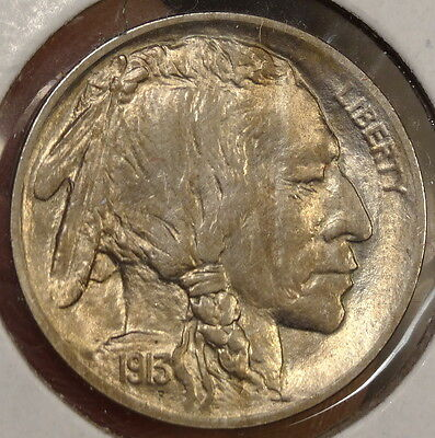 1913 Type One Buffalo Nickel, Choice Uncirculated, Bright & Lustrous    0120-13