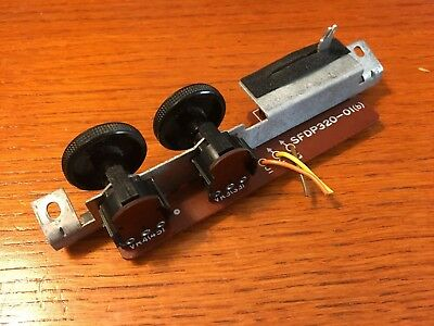 Technics SL-3350 Turntable Parts - Speed Selector & Pitch Control Assembly