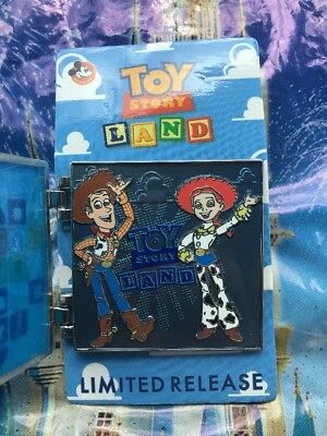 Disney Toy Story Land Passholder Pin Woody I Played There! Hinge NEW LR PIN