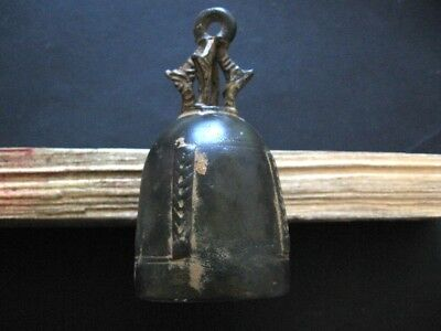 Unique Bronze Age Ancient Illyrians Bronze Ritual Bell 1100-900 B.c.