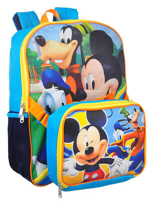 4cea6447741 DISNEY MICKEY MOUSE Backpack with Insulated Lunchbox -  17.99