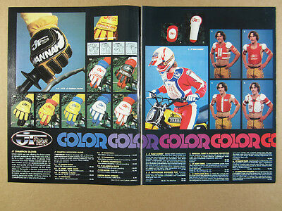 1978 JT Racing Motocross Motorcycle Equipment Gloves Pants 7 pg vintage print Ad