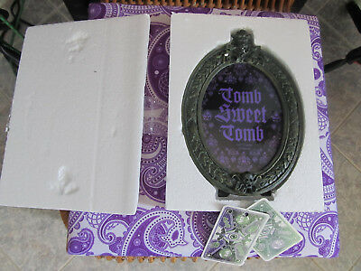 Disney Haunted Mansion Picture Frame New Tomb Sweet Tomb Magic