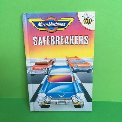 Vintage Micro Machines Toy Buzz Books Mini HB Story Comic Safebreakers 1990s