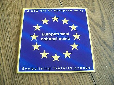 Europe's Final National Coins 15 Coin Set