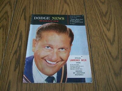 Dodge News Magazine 1956 1957 Lawrence Welk Special Issue Vol. 22 #4