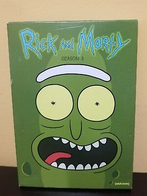 RICK AND MORTY Collection Complete First Season 1 DVD SET