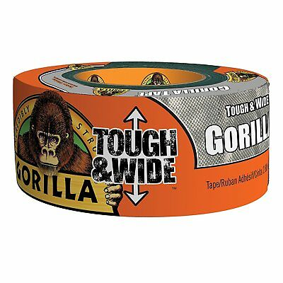 Gorilla Glue 6073502 Silver Tough & Wide Tape, 30 yd