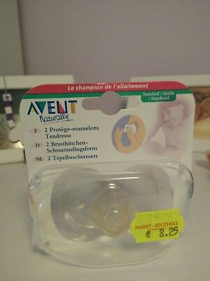 2Philips Avent Brusthutchen Schmetterlingsform neu