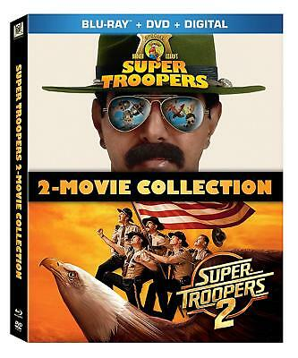 Super Troopers: 2 Movie Collection 0245 (Blu-ray) NEW