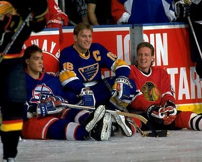 Teemu Selanne Winnipeg, Brett Hull St Louis, Jeremy Roenick Chicago 8x10 Photo