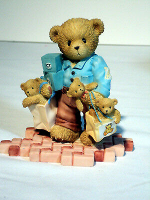 Cherished Teddies ALLEN 114166 RARE The Perfect Man LE 5144 of 10,000 MIB