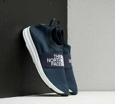 The North Face NSE Traction Knit Moc Shoes Urban Navy/TNF White BRAND NEW!