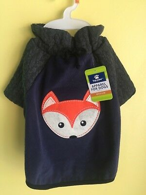 Fleece Sweater Small Dog Outfit Size M New with Tags Top Paw brand Quality