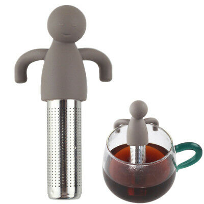 Stainless Steel Loose Tea Infuser Humanoid Strainer Filter Diffuser Herbal Spice