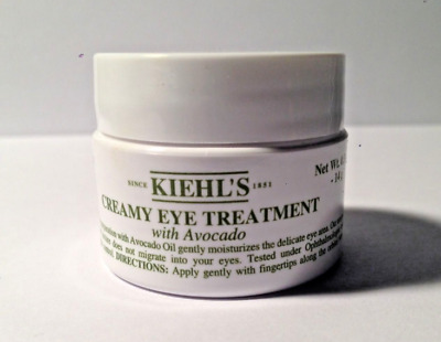 Kiehl's CREAMY EYE TREATMENT CREAM with AVOCADO 0.5 oz/14 g FULL SIZE