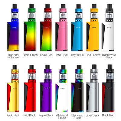 100% Authentic Smok Priv V8 Kit -  TFV8 Baby Tank -  TPD Compliant - All Colours