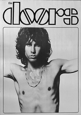Vintage Poster The Doors Jim Morrison