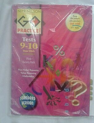 NFER Pink Variety Pack test papers AGE 9-10 years Suitable for eleven plus 11+