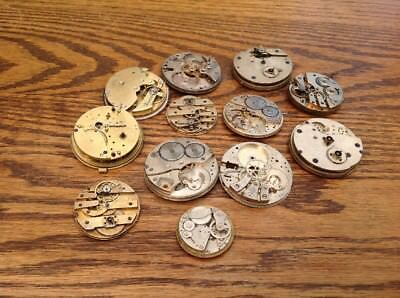 Watchmakers watch parts Good Lot Antique & Vintage Pocket Watch hands