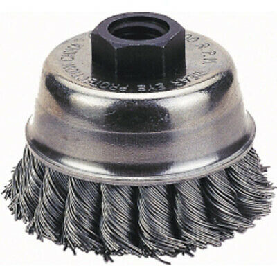 "Firepower 1423-2110 Cup Brush, 3"" Knotted Wire"