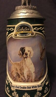 Stein Collectible Cabela's Conservation Series Day's End Double-Bob White Quail