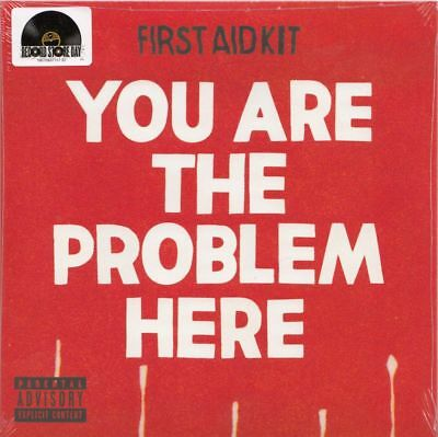 "FIRST AID KIT You are the problem here | 7"" Vinyl Single Neuware"