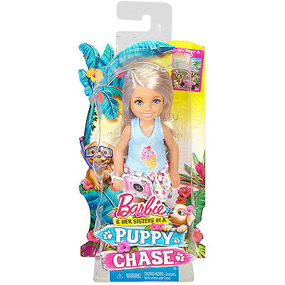 Barbie & Her Sisters in a Puppy Chase: Chelsea Doll with Camera (DMD95) Mattel
