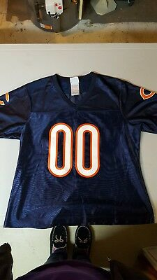 NFL TEAM APPAREL, (New) Chicago Bears team jersey, #00, size 12