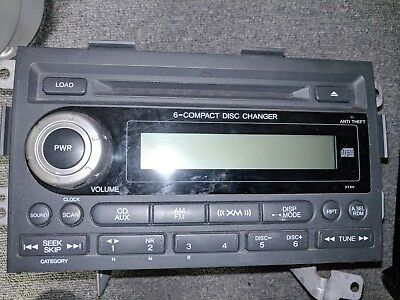 Selling OEM Honda Ridgeline XM Radio 6CD Changer