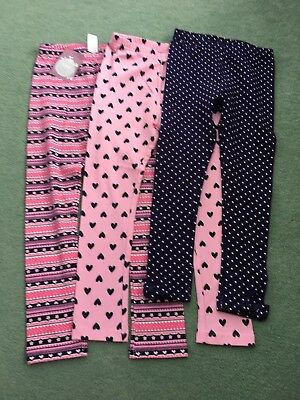 Tu Pink Pattern Tights 1-1.5 Years Used Girls' Clothing (newborn-5t) Baby & Toddler Clothing
