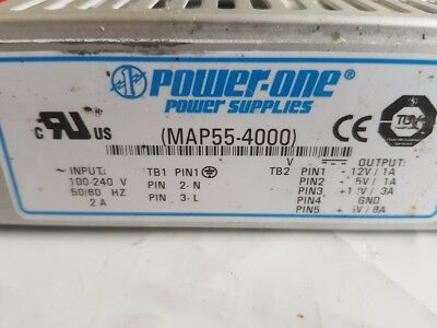 Power One MAP55-4000 Power Supply