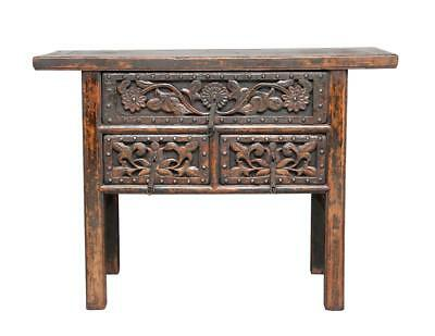 19Th Century Chinese Elm Small Dresser