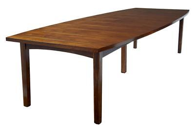 LARGE 1960's DANISH ROSEWOOD DINING TABLE