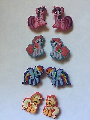 My Little Pony Shoe Charms USA Seller +Free Shipping 8 pcs