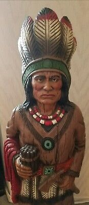 Universal Statuary Corps Cigar Store Indian,  Vintage (Resin)