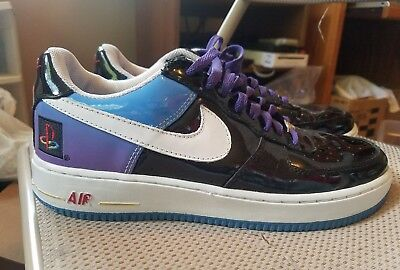 on sale c22ce 51a94 PLAYSTATION NIKE AIR FORCE 1 size 9.5 Rare 2006 (080/150)