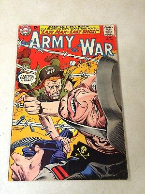 Our Army At War #152 Kubert, 4Th All Sgt Rock Issue, 1965, Dc, Last Shot