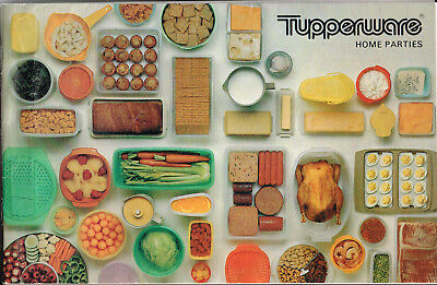 Vintage 1975 TUPPERWARE CATALOG Home Parties, 32 Pages
