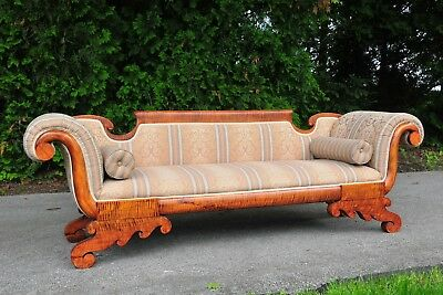 Victorian Couch Day Bed Tiger Wood