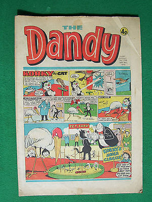 'The Dandy' no.1798 May 8th, 1976 in fairly worn condition