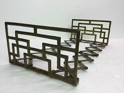 Antq Arts Crafts 1906 Store Display Expandable Rack C Schilling LA CA USA FLW