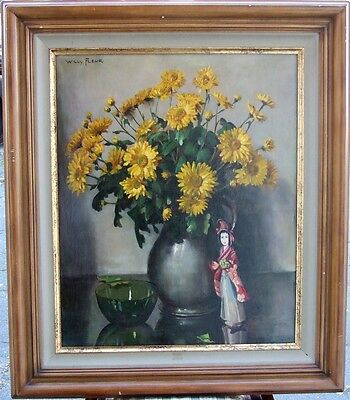 Holland - Flowers + Japanese Lady - Willy Fleur - Dutch --- Free Shipping !!!