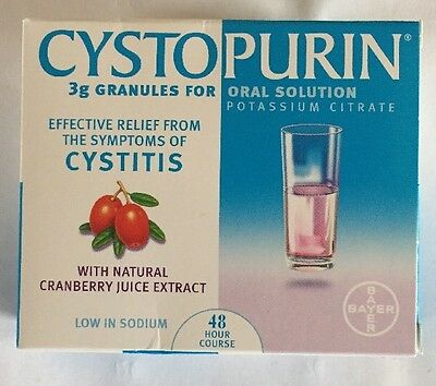 Cystopurin granules cranberry 3g Each. 6 Sachets For Cystitis. Oral Solution