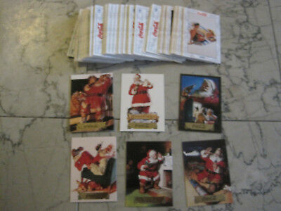 1993 coca cola collect a card 100 card set (series 2 ) 6 inserts  free shipping