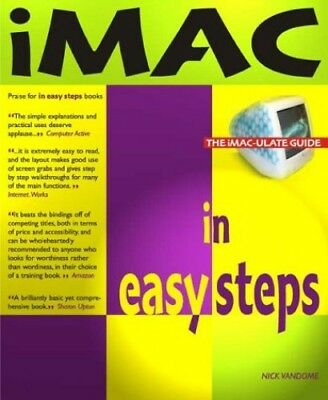 iMac in Easy Steps by Vandome, Nick Paperback Book The Cheap Fast Free Post